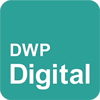 dwp digital logo